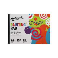 Mont Marte Painting Pad A4 110Gsm 25 Sheets