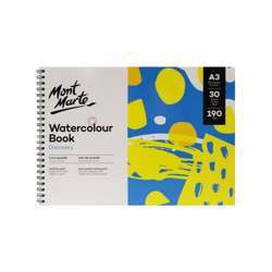 Mont Marte Discovery Water Colour Book A3