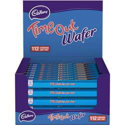 Cadbury Time Out Chocolate Wafer (40x21.2g)