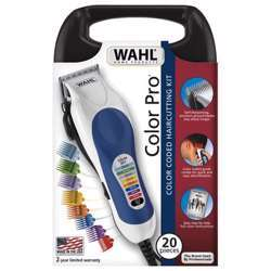 WAHL Color Pro Color Coded Hair Cutting Kit