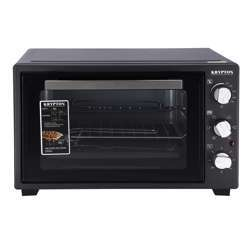 Krypton KNO6246 45L Electric Kitchen Oven - Powerful 2000W With Crumb Tray, 60 Minutes Timer & Rotisserie Function | 6 Selectors For Baking & Grilling | 5 Accessories Included | 2 Years Warranty