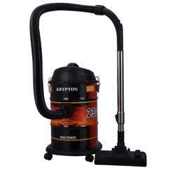 Krypton KNVC6279 Drum Vacuum Cleaner, 2300W - Air Flow Control On Handle - Blow Function - Dust Full Indicator | Telescopic Tube | Dust Capacity Of 21L | Ideal On All Types Of Floor | 2 Years Warranty