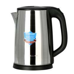 Olsenmark OMK2332 2.5L Cordless Electric Kettle | Stainless Steel Kettle | Boil Dry Protection & Auto Shut Off Feature | Ideal For Hot Water, Tea & Coffee Maker | 1800W | 2 Years Warranty