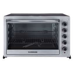 Olsenmark OMO2264 Oven And Rotisserie 100L - Electric Oven 2800W - 100-250 Adjustable Temperature, 60 Min Timer Function - Multiple Cooking Functions & Grill - Accessories Included - 2 Year Warranty