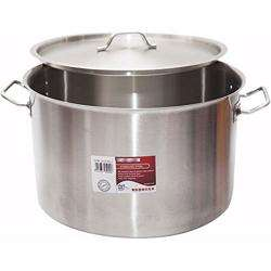 Chefset Steel Cooking Pot With Lid 70cm
