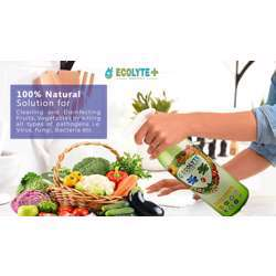 Ecolyte+ Fruits & Vegetables Disinfectant 100% Natural - 1 Litre preview