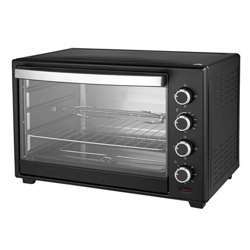 Geepas GO4451 48L Electric Oven 2000W - Oven With Rotisserie And Convection Functions | Grill Function, 60 Minute Timer & Inside Lamp | 5 Control Knobs | 2 Years Warranty