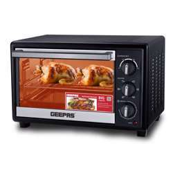 Geepas GO4466 Electric Oven With Rotisserie, 10L