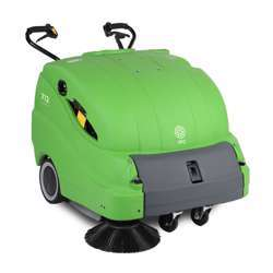 IPC 712 ET Battery Operated Walk Behind Sweeper
