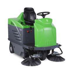 IPC 1250 E Battery Operated Ride On Sweeper
