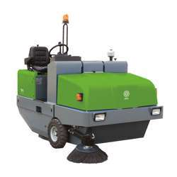 IPC 191 D Diesel Operated Ride On Sweeper