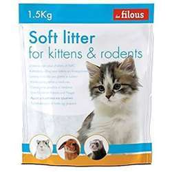 Les Filous Silica Kitten And Rodents Litter 1.5Kg (1x8)