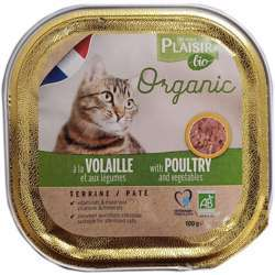 Plaisir Bio Terrine With Poultry & Vegetable 100g (1x16)
