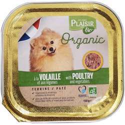 Plaisir Bio Terrine With Poultry & Vegetable 150g (1x11)