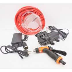 Hesham 12V 105PSI Portable High Pressure Spray and Car Electric Washer