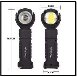 Hesham Rechargeable Maintenance COB Light / Rechargeable Led Work Light With Magnet