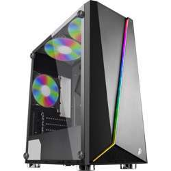 1st Player R7 Tempered Glass Atx Gaming Case