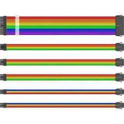 1st Player Steampunk Rainbow Mod Sleeve Extension Cable Kit With Acrylic Combo