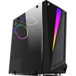"""1st Player Gaming Case R5 Case, Side Panel: Tempered Glass, Front Panel: With Light Strip, Form Factor Atx/Micro-Atx, 3 Rgb Fans Build-In Case, 2 3.5"""", 2 Hdd 2.5"""" Ssd R5"""