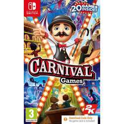 2K Games Carnival Games For Nintendo Switch Ns English/Chinese Sub