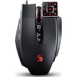 A4TECH Bloody Ml160 Commander Laser Gaming Mouse Advanced Weapon Tuning & Macro Setting 8200Cpi, Infrared - Micro Switch Light Strike Gaming Mouse
