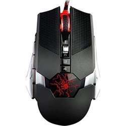 A4TECH Bloody T50 Infrared Micro Switch Gaming Mouse With Metal X''Glide 4000Cpi Gamers Choice Of Game Mouse, Lightstrike Bloody Gaming Mouse