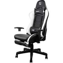 Abkoncore Agc21 Gaming Chair, Stuffing Material - Foam / Finishing Material , Pu Leather - White