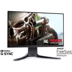 Alienware Aw2521Hf 25 Inch Gaming Monitor (Dark Side Of The Moon) (1Ms Gtg Response Time, Fhd Ips Led Backlit 1920 X 1080 At 240 Hz, Adaptive Sync, 99% Srgb Dp/Hdmi, USB) 2020 Model