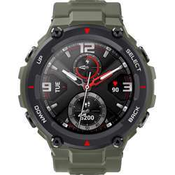 Amazfit T-Rex Smart Watch Army Green 1.3-Inch Amoled Color Screen Display With 14 Sports Model