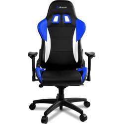 Arozzi Verona Pro V2 Premium Racing Style Gaming Chair with High Backrest, Recliner, Swivel, Tilt, Rocker and Seat Height Adjustment, Lumbar and Headrest Pillows Included, Blue