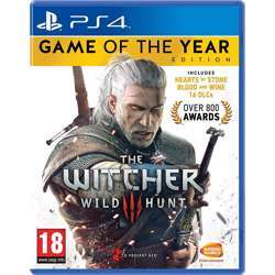 Bandai The Witcher 3 Game Of The Year Edition (Ps4) By Namco