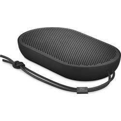 Bang & Olufsen Beoplay P2 Portable Bluetooth Speaker With Built-In Microphone, Black