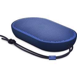 Bang & Olufsen Beoplay P2 Portable Bluetooth Speaker With Built-In Microphone, Royal Blue