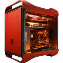 BITFENIX Prodigy M Color Window Micro Atx Motherboard Case (Fire Red)