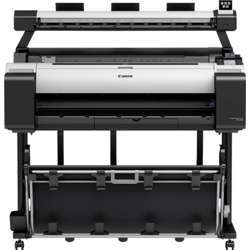 Canon Imageprograf Tm-300 Mfp L36Ei 36 Inch Large Format Printer With Scanner, Prints Up To 144 Pph (A1), Colored - White