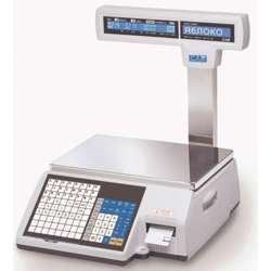 Cas Commercial Label Printing Scale