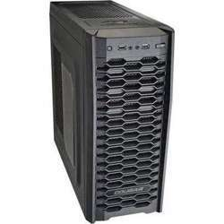 Cougar MX300 Black Steel ATX Mid Tower Computer Case with two 12cm Cougar TURBINE HYPER-SPIN Bearing Silent Fan and USB 3.0 with 600w power supply- CG-MX300