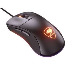 Cougar Surpassion St Gaming Mice With Pmw3250 Optical Sensor, Rgb Lighting And Onboard Dpi, Polling Rate Adjustment