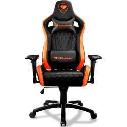 Cougar Armor S Gaming Chair (Black and Orange)