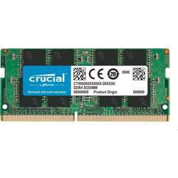 Crucial 8Gb Single 260-Pin Sodimm 8Gb 3200 Mt S (Pc4-25600) Cl22 Sr X8 Uncoated 260-Pin Sodimm