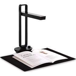 Czur Aura X Pro Foldable Book / Document Scanner With Smart Desk Lamp Function (With Built-In Battery) Aura X