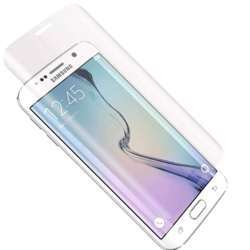 Cygnett Edge To Edge Screen Protector, Rounded Edge, Bubble-Free, Anti-Fingerprint, Compatible With Alignment Frame For Samsung Galaxy S6 - Tempered Glass