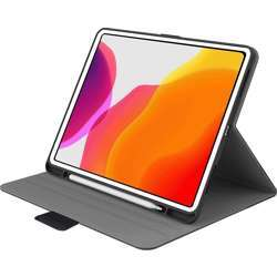 """Cygnett Teck-View Slim-Line Casewith Apple Pencil Holder, Light-Weight Design, Auto Sleep/Wake, Magnetic Close Tab And 360° Protection For Ipad Pro 12.9"""" - Grey Black"""