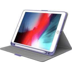 """Cygnett Teck-View Slim-Line Case With Apple Pencil Holder, Light-Weight Design, Auto Sleep/Wake, Magnetic Close Tab And 360° Protection For Ipad 10.2"""" - Lilac/Purple"""