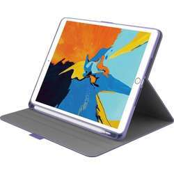 """Cygnett Tekview Ipad Slim Case, 360 Protection, Smart Stand W/Multiple Viewing Angles, Apple Pencil Holder, Magnetic Close Tab, Protective Case Cover, Ipad Mini 4/5 7.9"""", 2019 - Lilac"""