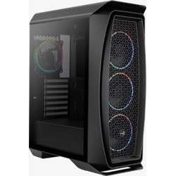 Deepcool Aeroone Eclipse Bg Mid Tower, Tempered Glass, Dust Filter In Front, 120Mmx3 Argb In The Front, 120Mmx1 Argb In The Rear