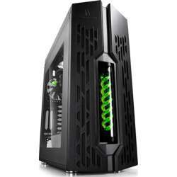 Deepcool Genome Ii Tower Gaming Case Black, Liquid Cooling System 360Mm, Usb 3.0, No Power Supply Unit - Green
