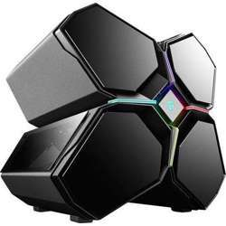 """Deepcool Quadstellar """" 4-Cabins Structure E-Atx, Automatic Air-Intake System, Rgb Lighting System, 5Pcs Tf120 Fans Pre-Installed"""