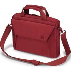 Dicota Slim Case Edge 12-13.3 Red Stylish And Slim Notebook Case With Tablet Pocket