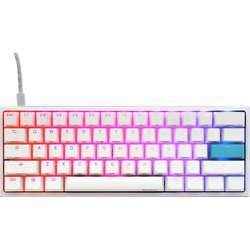 Ducky Dkon2061St-Cuspdwwt1 One 2 Mini Pure White Rgb Version 2 (Year Of The Rat Spacebar) Gaming Keyboard - Cherry Mx Blue Switch